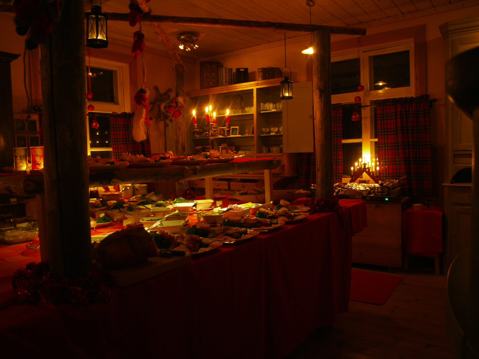 Christmas table at Wärdshuset