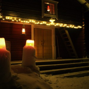 Winter entrance Wärdshuset