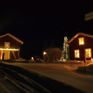 Winter at the Guesthouse