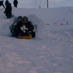 Snow racing at Lapland Incentive