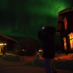 Northern Lights at Wärdshuset