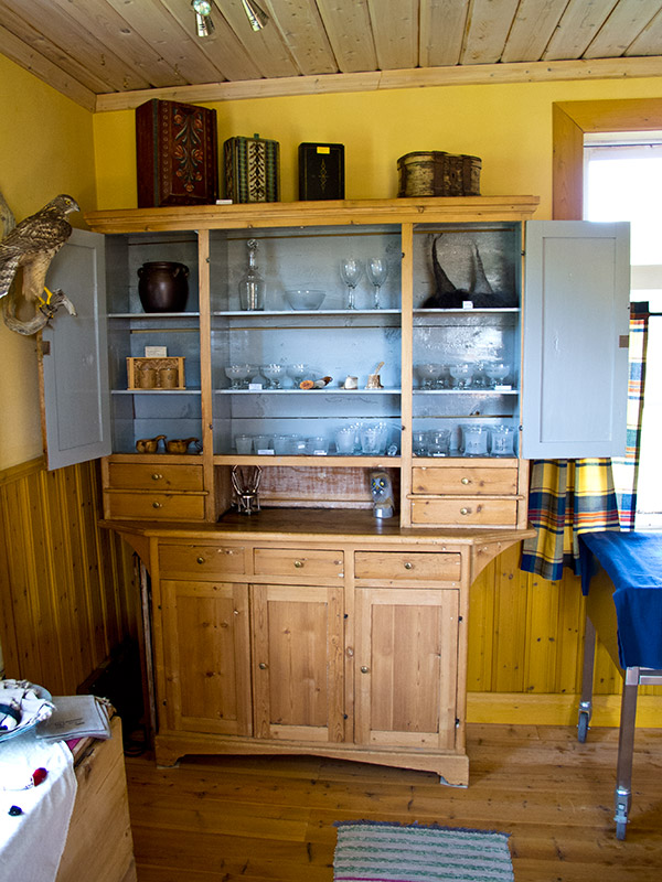 Old cupboard cabinett northern Sweden arctic antiques