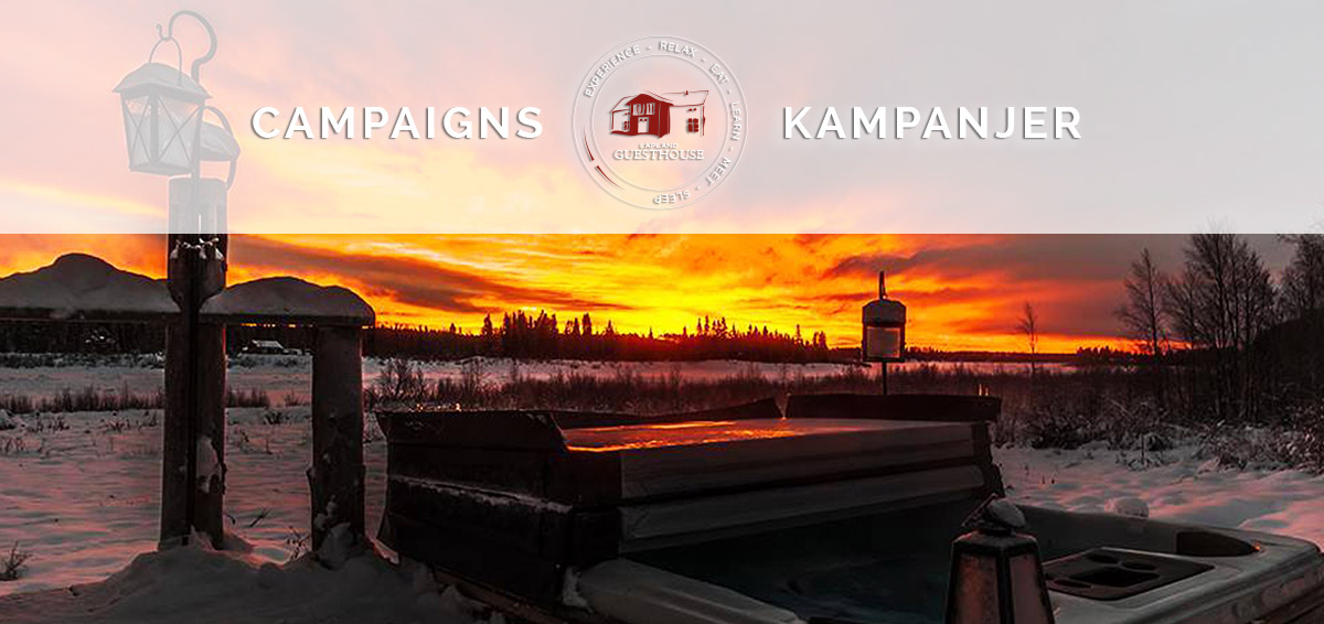 Campaigns-Kampanjer-Lapland-Guesthouse