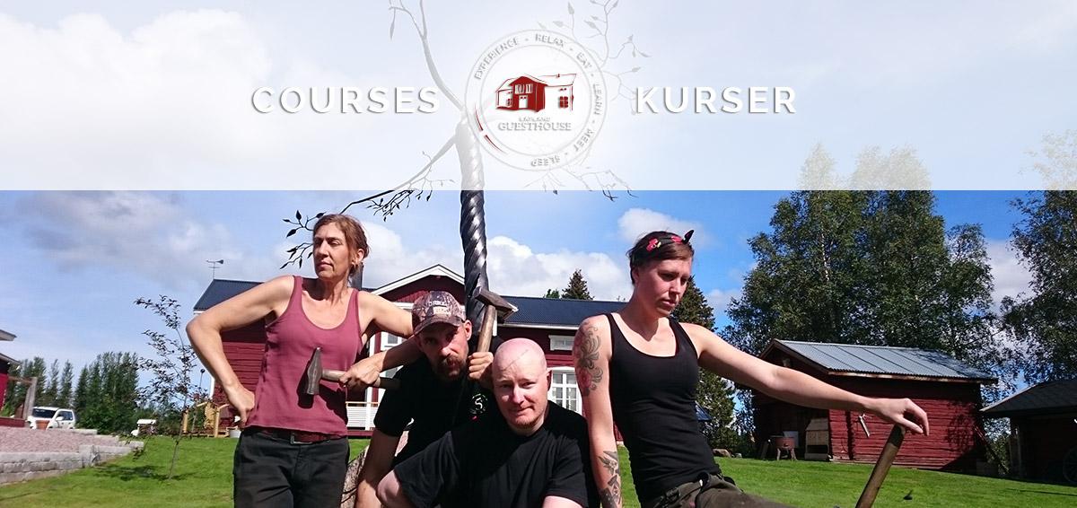 Courses-Kurser-Lapland-Guesthouse