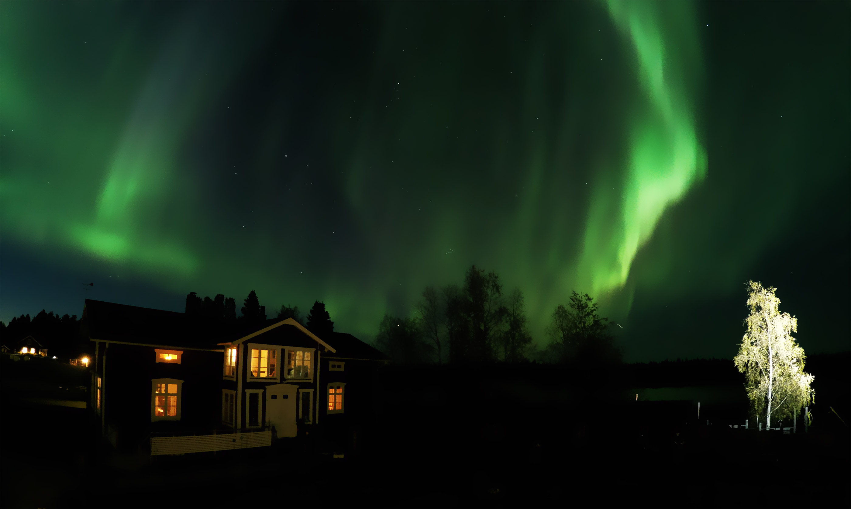 Northern Light in Lapland