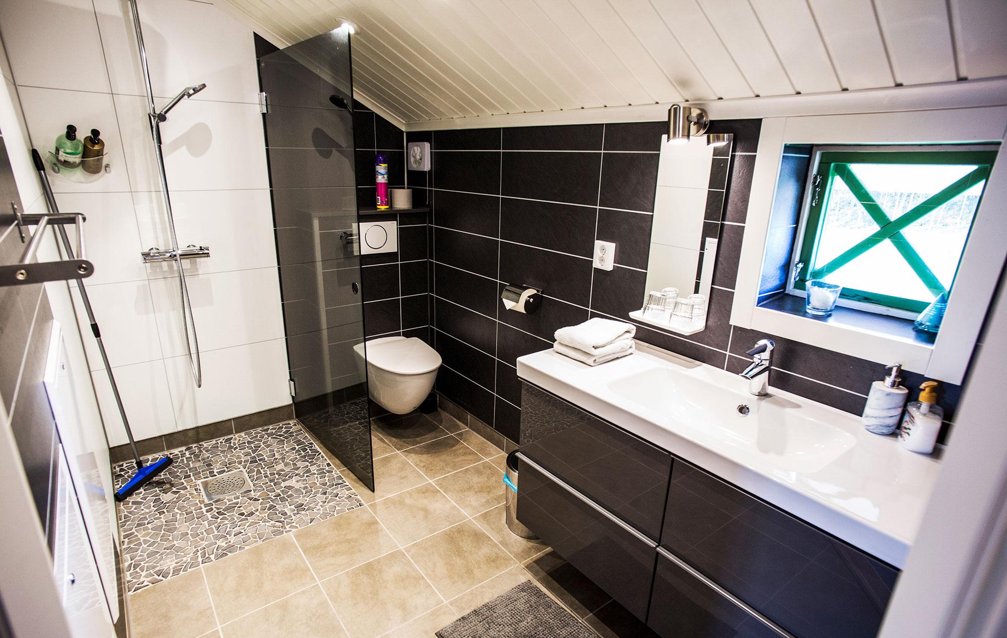 Bathroom arctic guesthouse