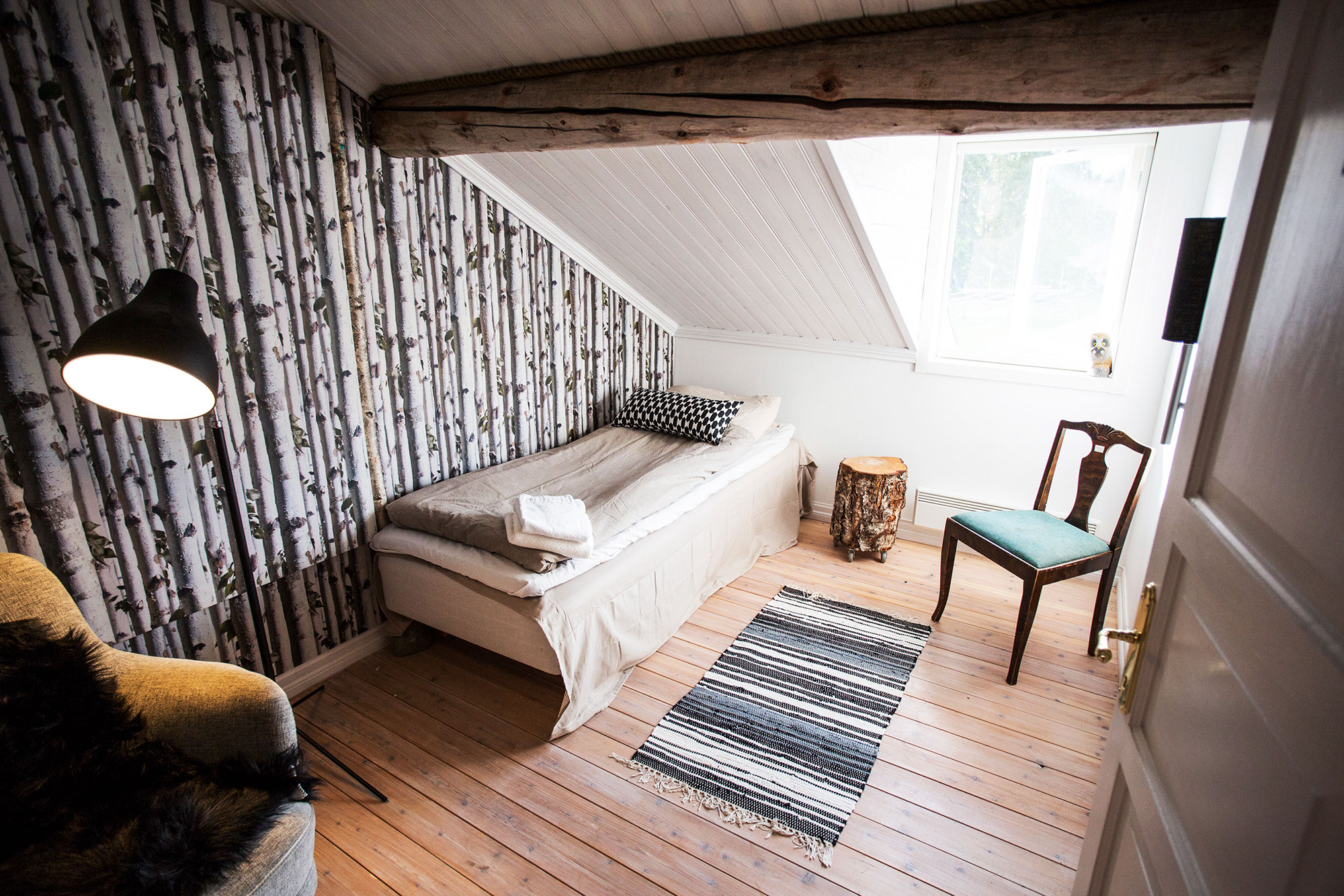 Birch-room-lapland-guesthouse