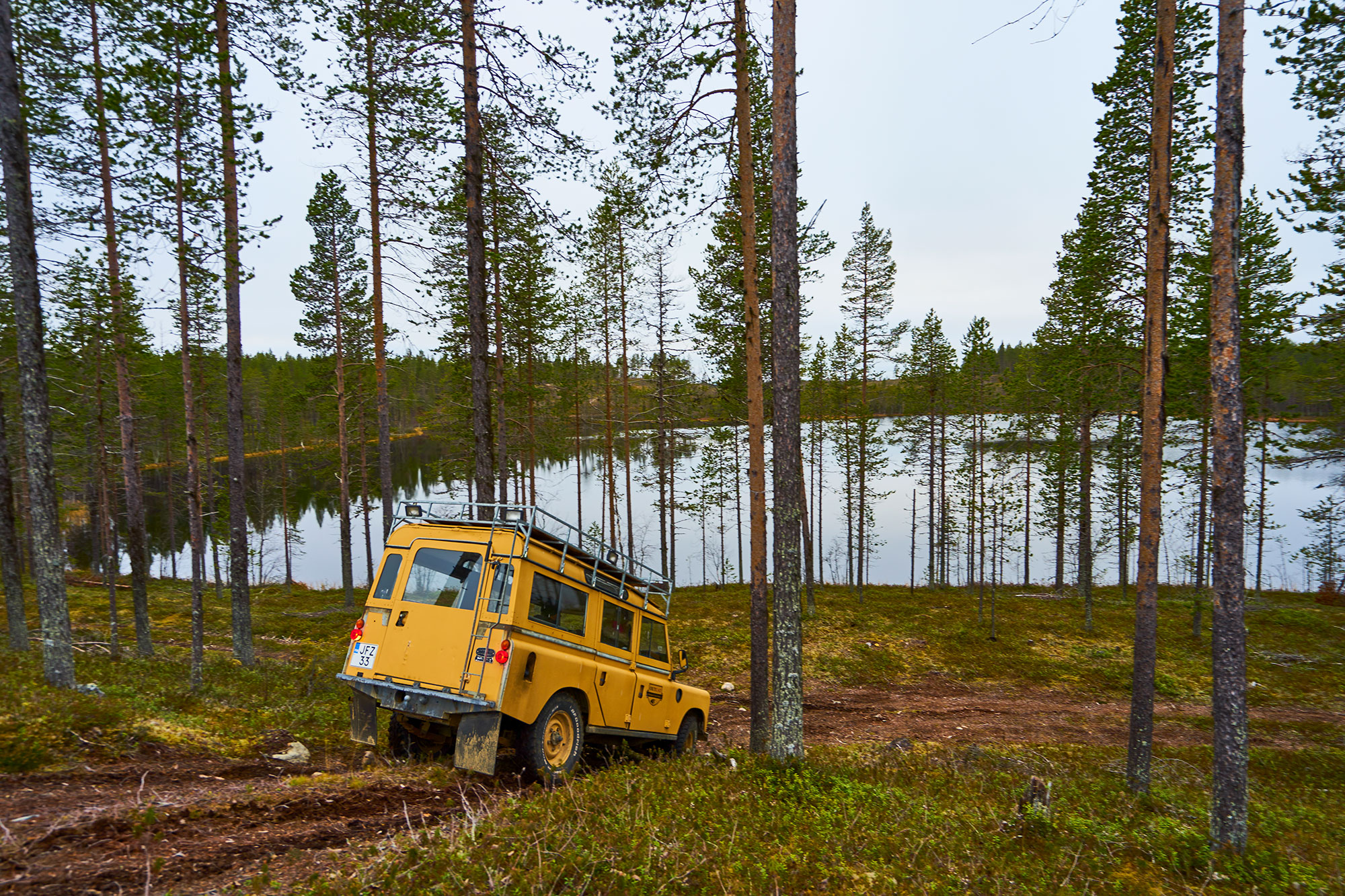 Jeep Safari Lapland