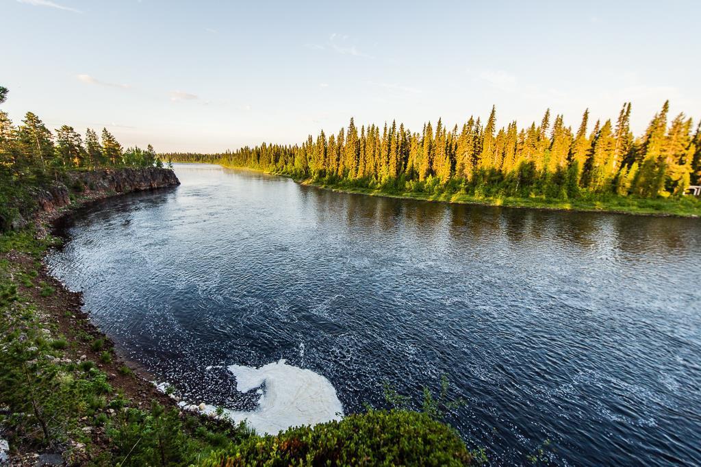 Fishing in Swedish Lapland