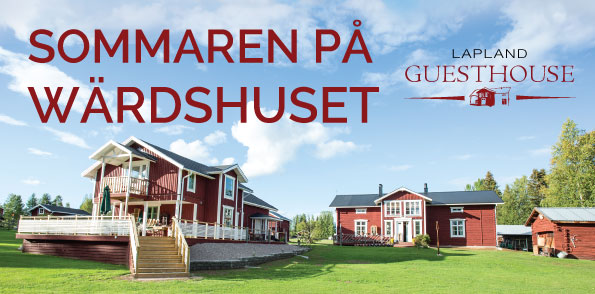 Lapland-Guesthouse - Summer 2018