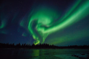 northern light swirls