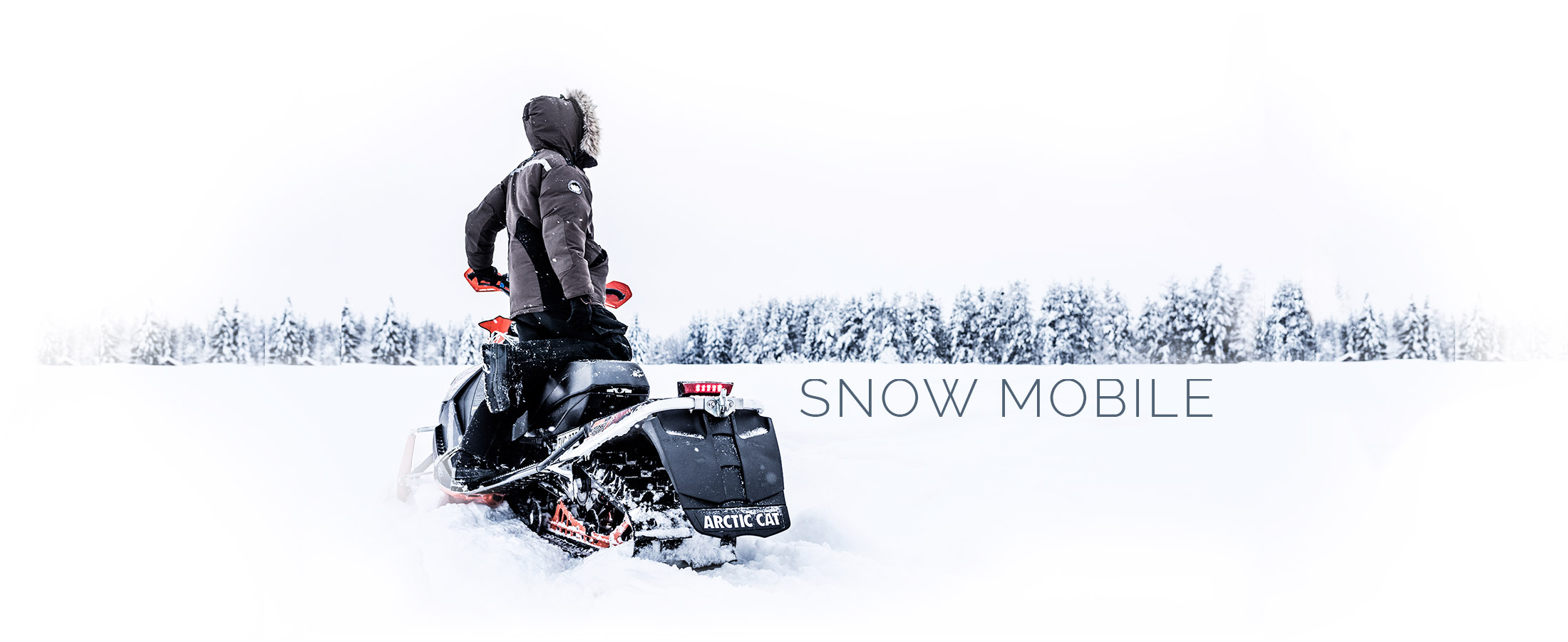 Snow Mobile safaris