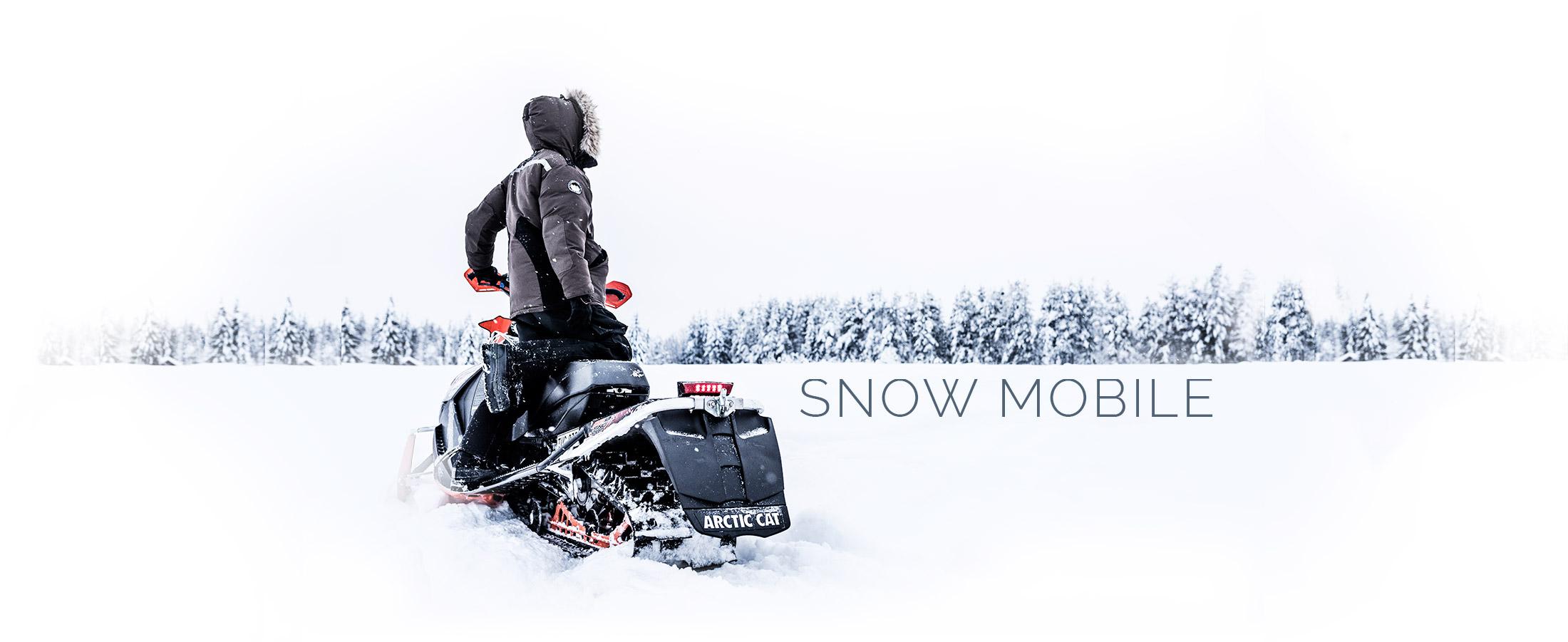 Snow Mobile safaris