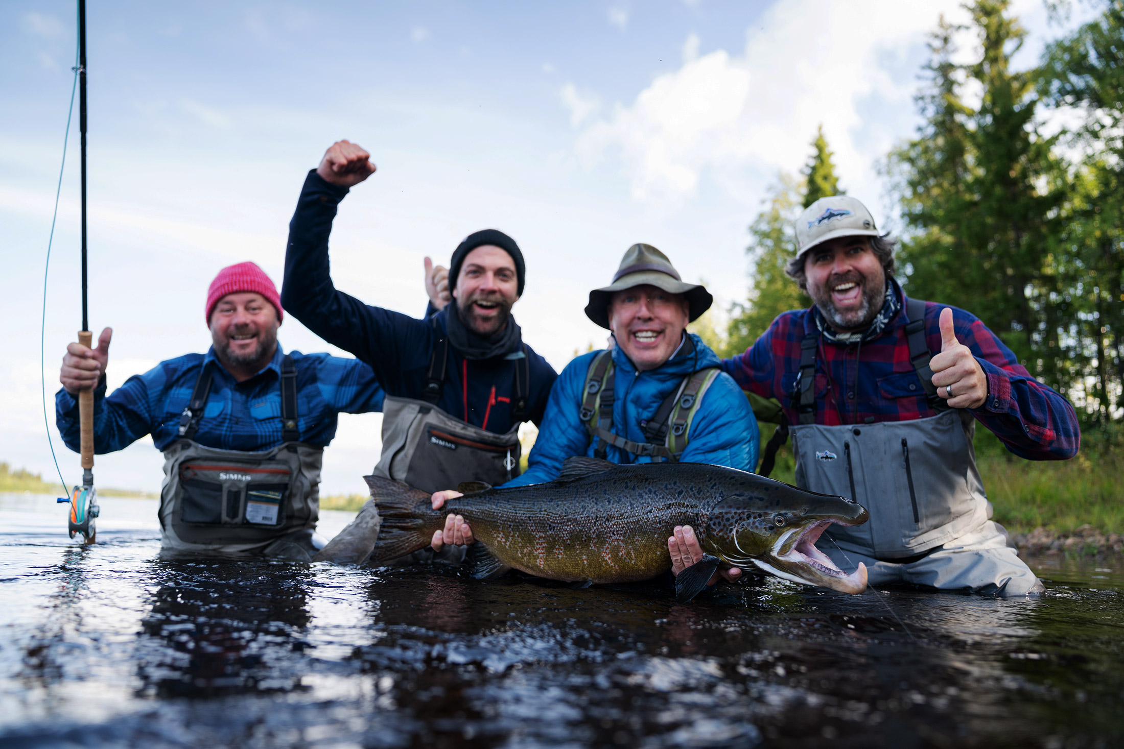Fly fishing Lapland Guesthouse