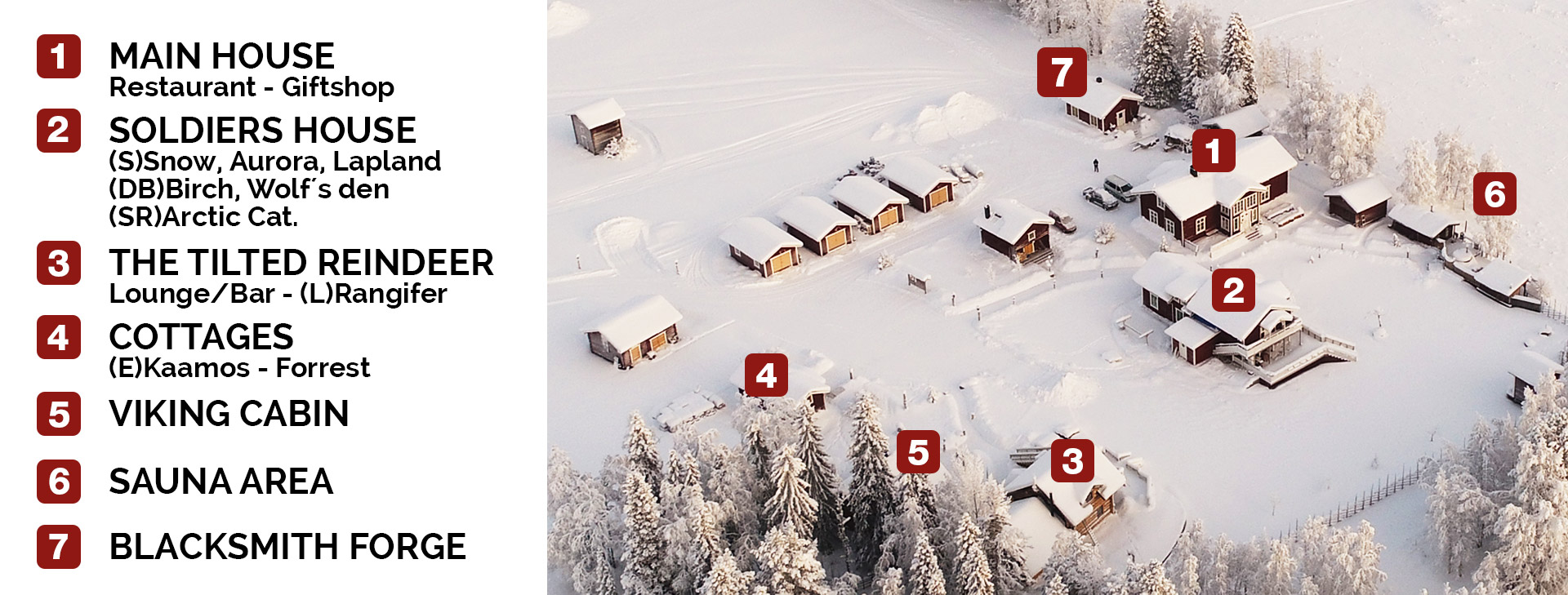 Lapland-Guesthouse-Aerial-overview
